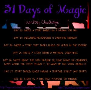 31 Days Wk 4
