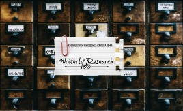 Writerly Research